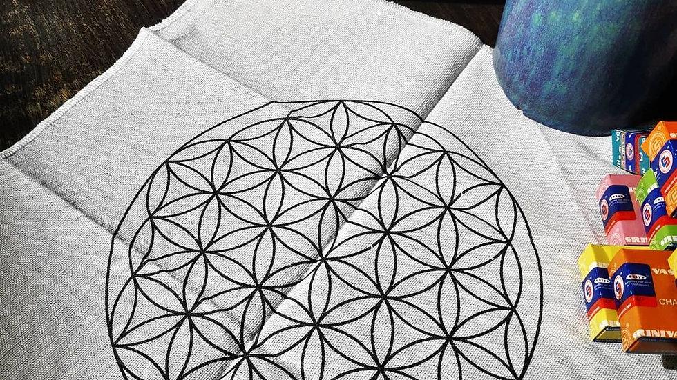 Flower of Life Grid Mat