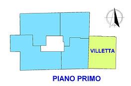 VILLA FEDERICA PLANIMETRIA piano primo V
