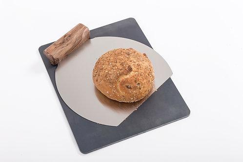 Jeklena plošča za peko 30.40 opcija Inox Lopar
