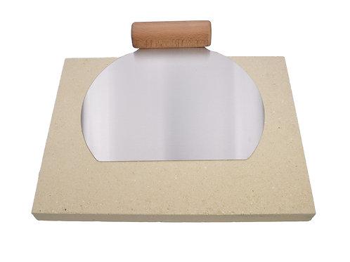paletna razprodaja-Šamotna plošča za peko 30.40