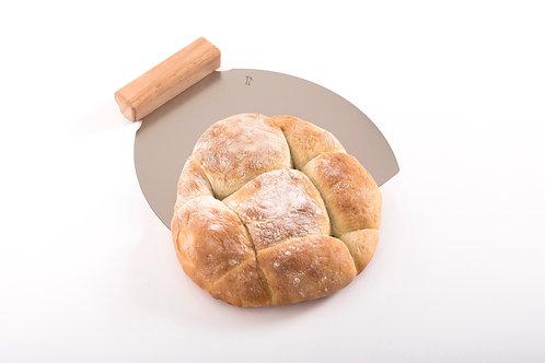 Inox lopar za peko 34 cm
