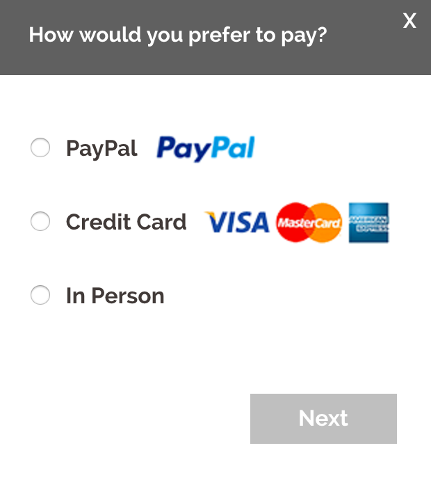 VISA and Master Payment