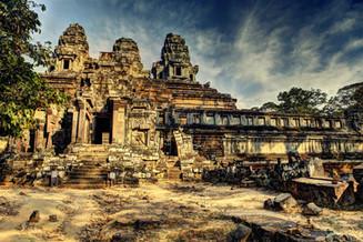 高棉的微笑 - 与吴哥窟的匆匆一晤