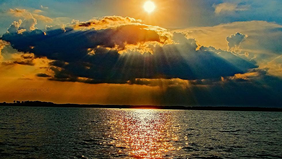 """""""Lake Murray Sunset"""""""