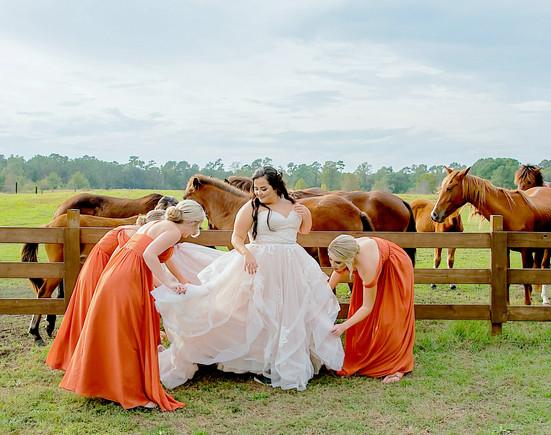 WildHorse at Parker Farms Longs, SC Wedding Day!!