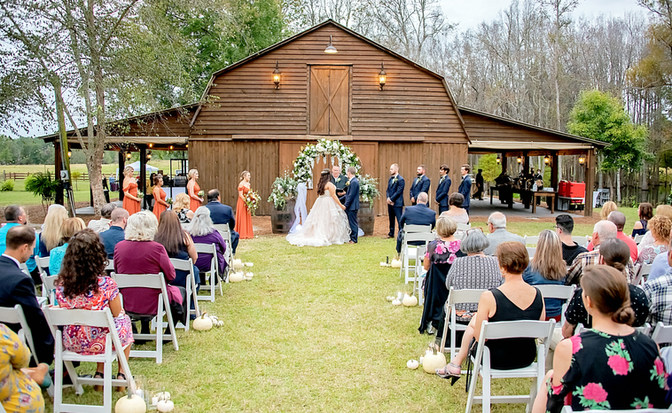 WildHorse at Parker Farms, Longs SC  Wedding Day!!