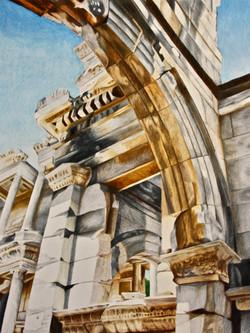 """Archway at Ephesus"""
