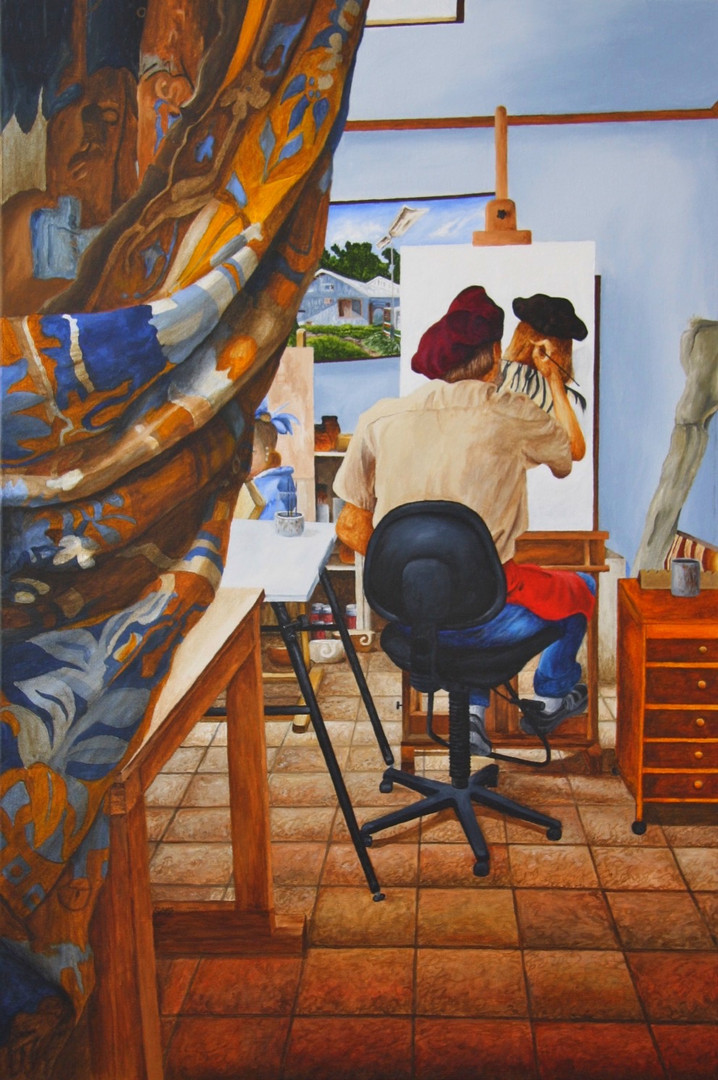 """""""Artist In His Studio"""""""
