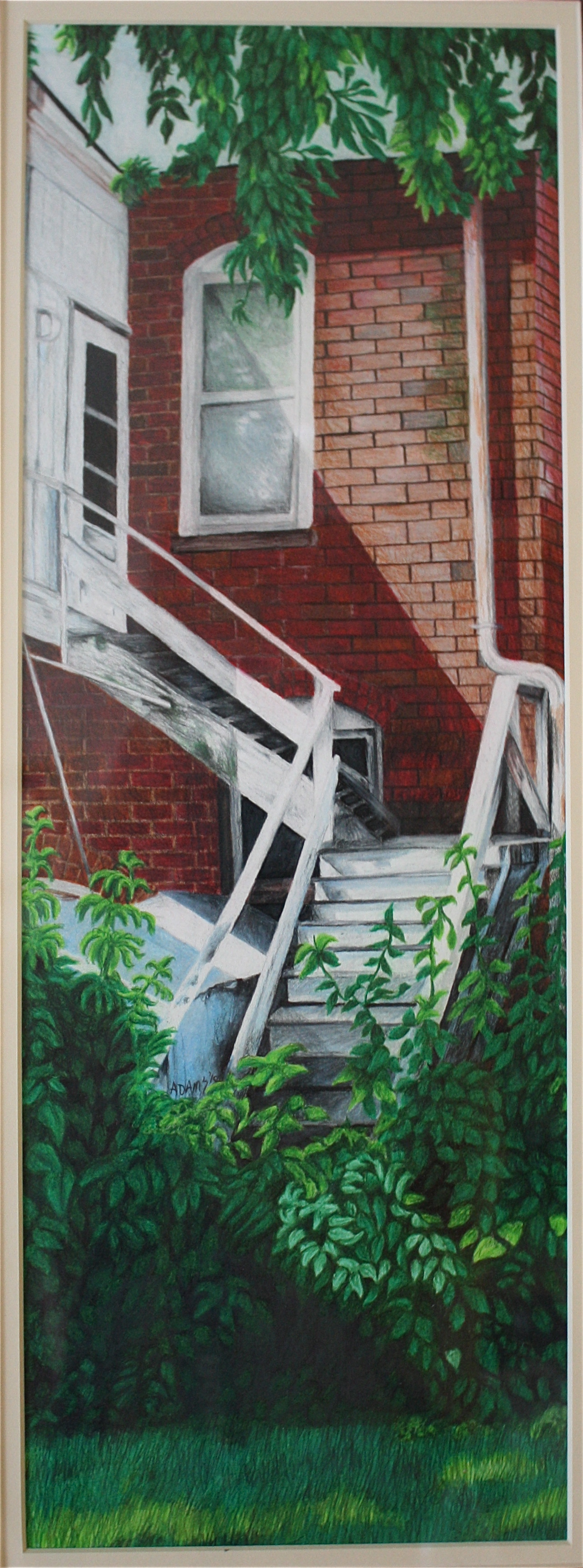 """Afternoon Staircase"""