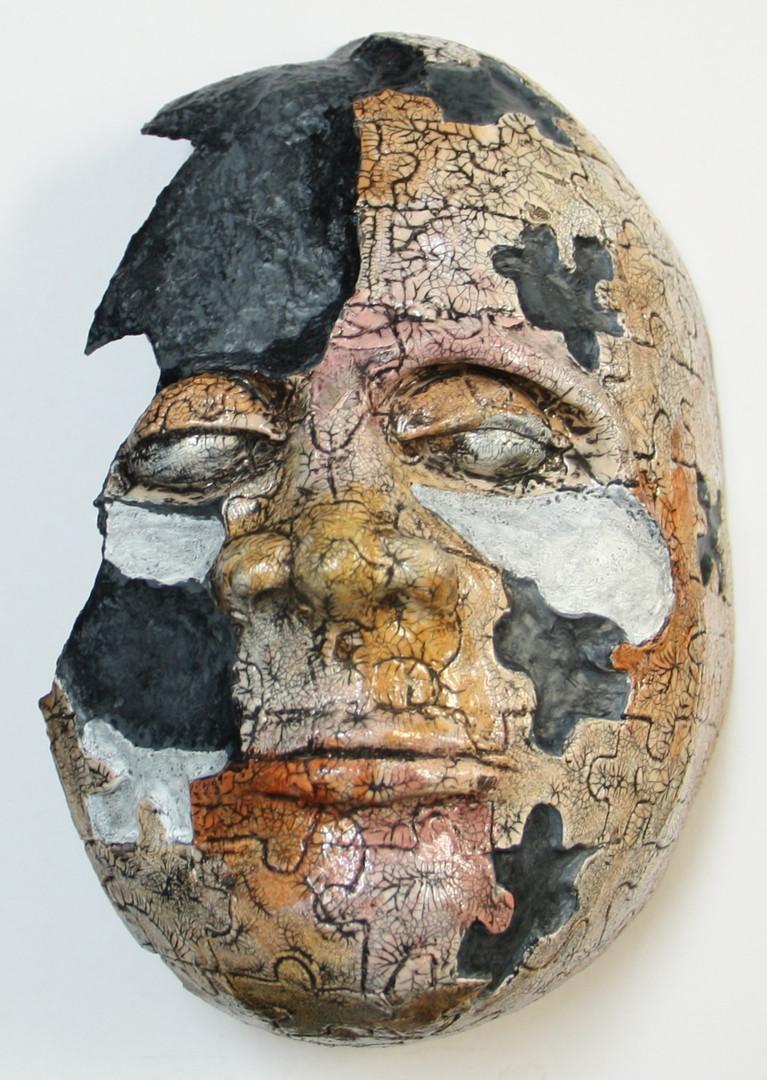 """""""Broken Jigsaw Mask"""""""