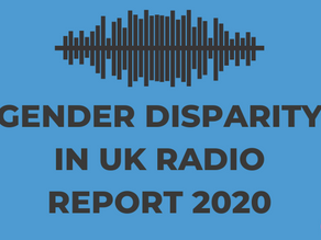 UK radio: A new investigation on gender inconsistency, specifically for women