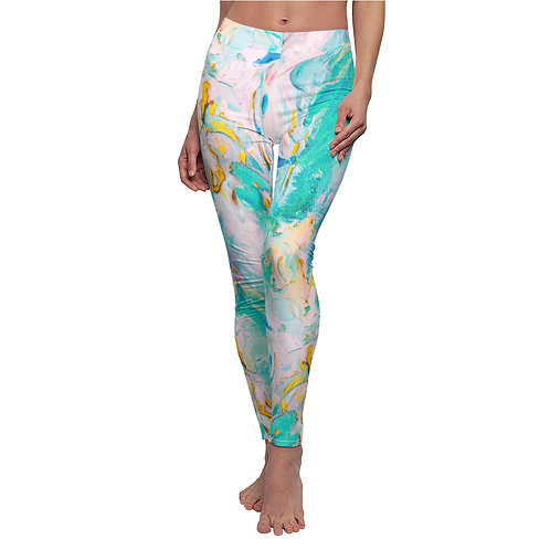 SeA OilPainting CeliA Soto Leggings (US)