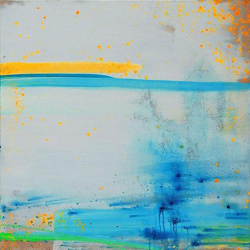 2 paintings in 1 - Feeling Bright