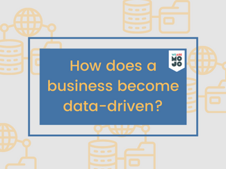 Do you look at other businesses that are data-driven and wonder how they got there?
