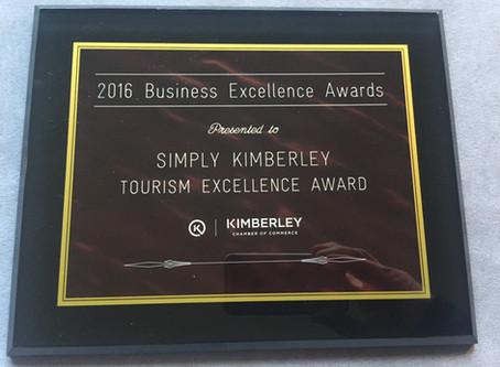Shameless Self-Pats   Tourism Excellence Award
