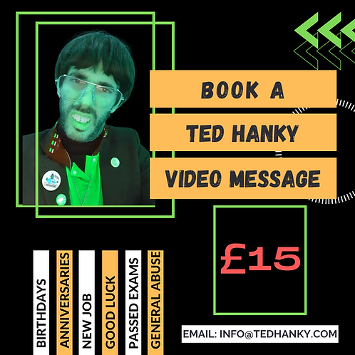 PERSONALISED VIDEO MESSAGE FROM TED