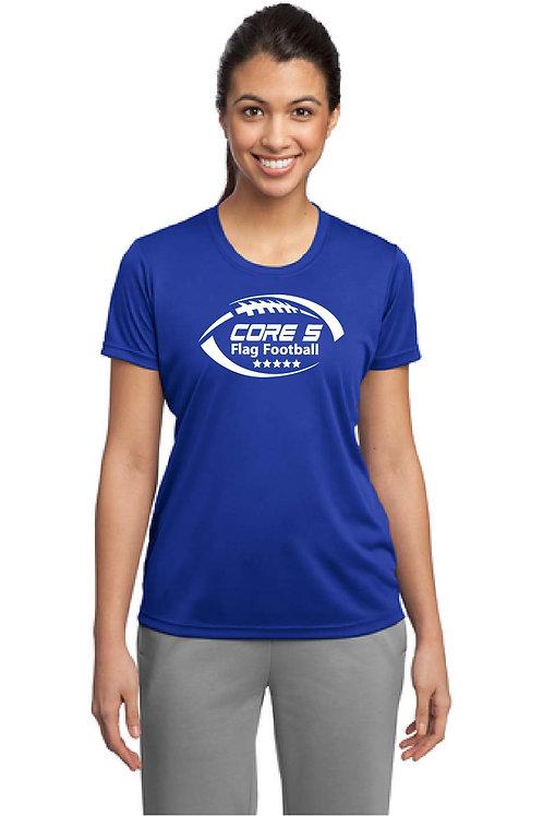 CORE 5 - TEAM SHIRT Ladies Sport-Tek Dri-Fit