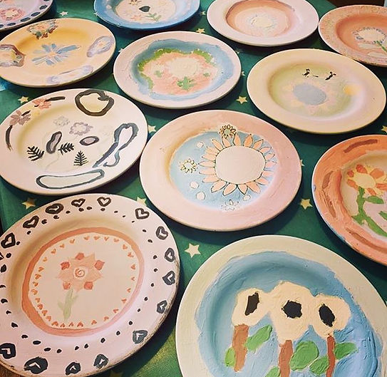 Pottery Painting Plates