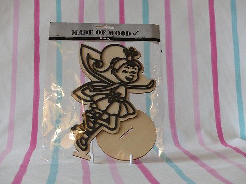 Foam Clay Wooden Fairy