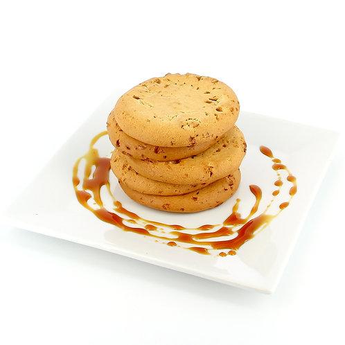 Zachte koekjes met caramel