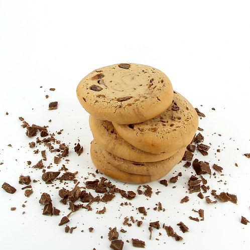Zachte koekjes met chocolade stukjes