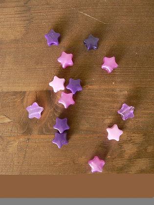 Perle étoile (lot de 6)