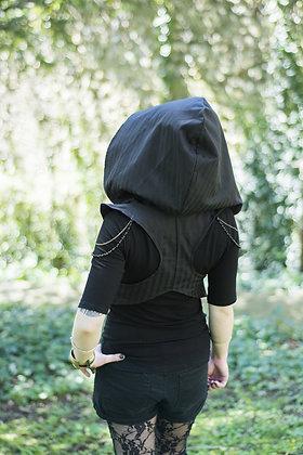 Harnais Darjeeling Noir rayé