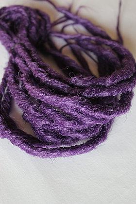 Violet - Double - Effet Naturel - Par lot de 5