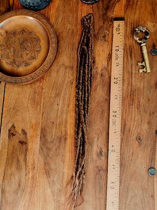 Dreads doubles - Longues et moyennes -Roux naturel
