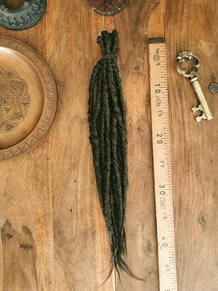 Dreads doubles - Mi-longues et moyennes - Brun