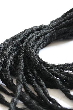 Noir  - Double - Effet Naturel - Par lot de 10