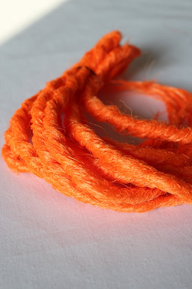 Orange - Simple - Effet Naturel - Par lot de 5
