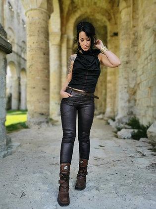 Jegging Kalinda Noir-marron