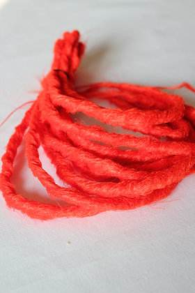 Rouge - Double - Effet Naturel - Par lot de 5