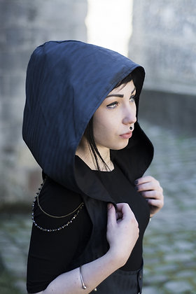 Harnais Darjeeling Bleu rayé
