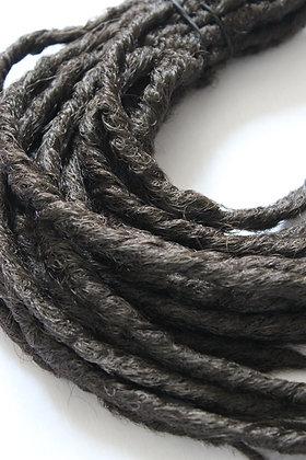 Brun - Simple - Effet Naturel - Par lot de 10