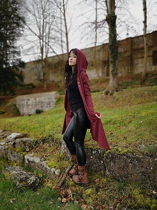 Veste Satya Bordeaux