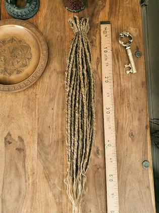 Dreads doubles - Longues et moyennes - Caramel