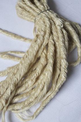 Blond platine - Double - Effet Naturel - Par 10
