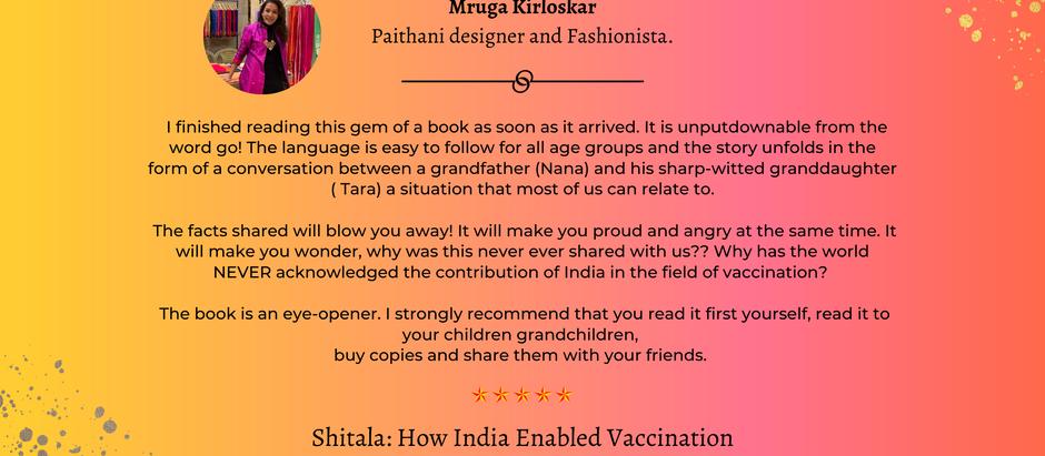 #ShitalaReview - Mruga Kirloskar - Paithani designer and Fashionista.