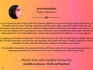 #ShitalaReview -  Savitri Mumukshu - Twitter Influencer .