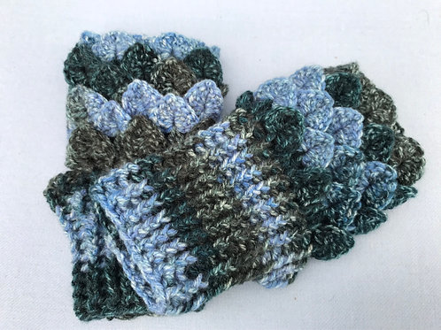 Dragon Scale Gloves - Flat Palm - Paintbox