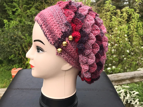 Dragon Scale Slouch Hat - Sardinia