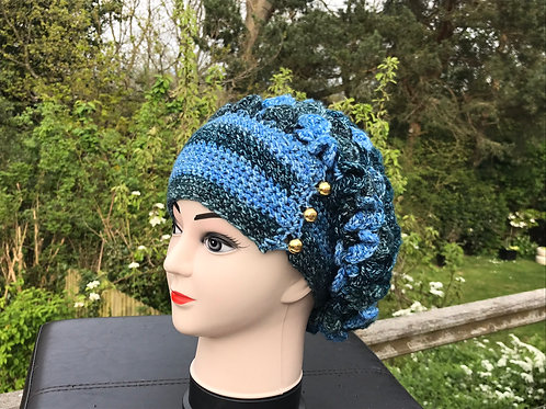 Dragon Scale Slouch Hat - Paintbox