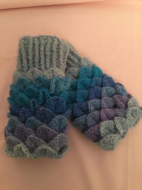 Dragon Scale Gloves - Round Palm -Rhodes