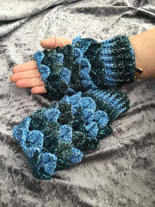 Dragon Scale Gloves - Round Palm - Paintbox