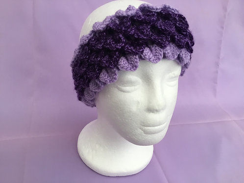 Dragon Scale Headband - Purple