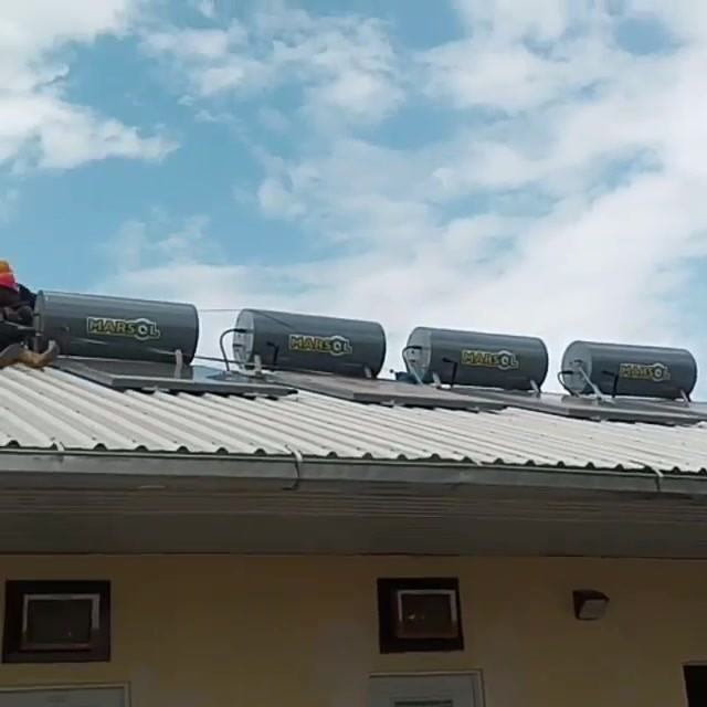 SOLAR WATER HEATER INSTALLATION FOR IAM GOLD COMPANY