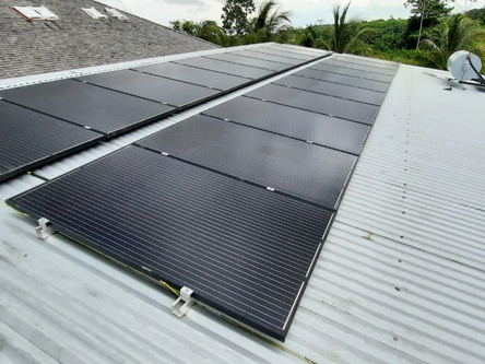 ON GRID SOLAR ENERGY SYSTEM IN COMBINATION WITH SOLAR WATER HEATER