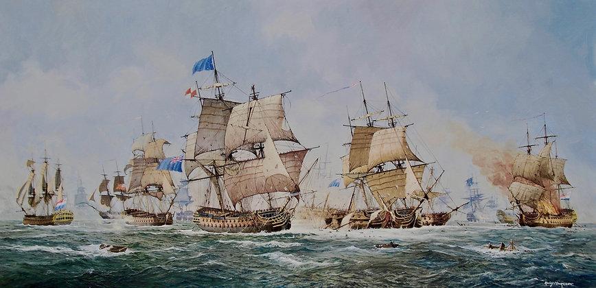 RONNY MOORTGAT | The Battle of Camperdown 1797